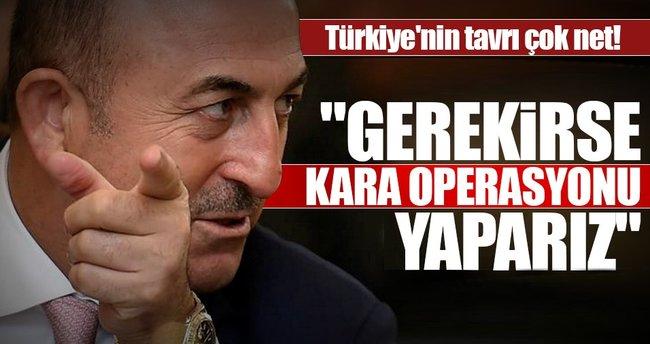 Dışişleri Bakanı Çavuşoğlu'ndan flaş açıklama