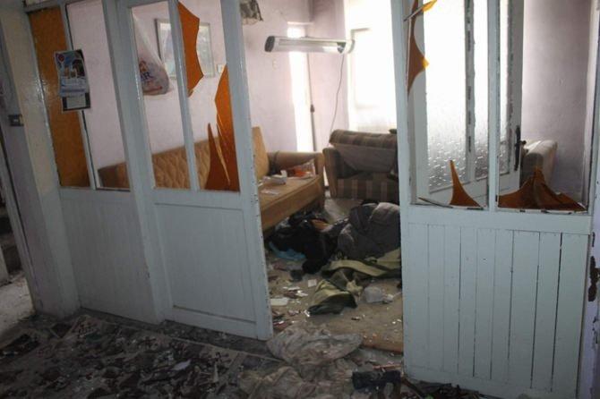 PKK'lı teröristlerin hücre evleri