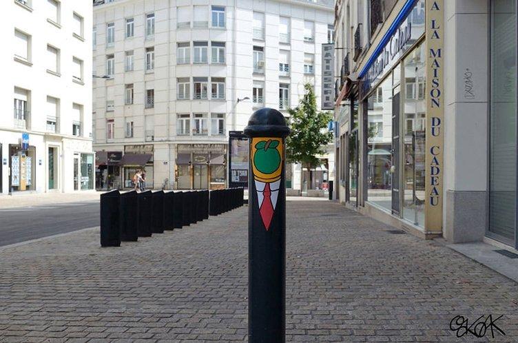 Sokaklara sanatsal dokunuş