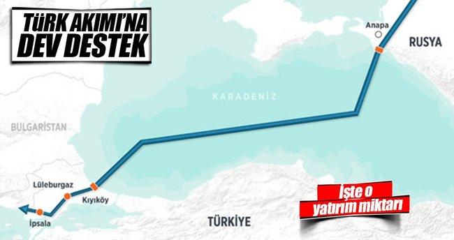 Gazprom`dan Türk Akımı'na 1.1 milyar lira!