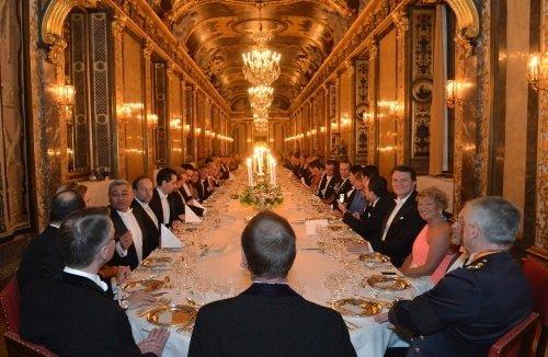 Cumhurbaşkanı Gül'ün İsveç ziyaretinden özel fotoğraflar
