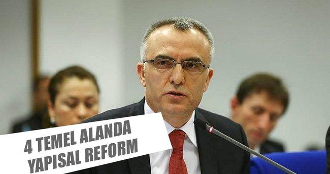 4 temel alanda yapısal reform