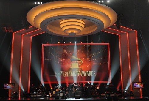 Grammy gecesinden renkli kareler