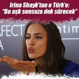 Irina Shayk'tan Mert Alaş'a: 'Bu aşk sonsuza dek sürecek'