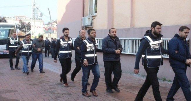 Bartın'da FETÖ soruşturması kapsamında 7 polis tutuklandı