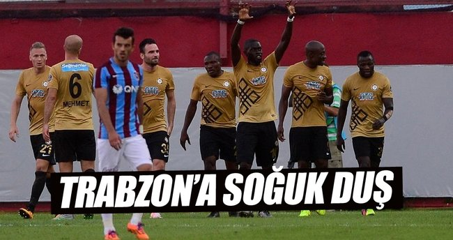 Trabzonspor - Osmanlıspor maç sonucu