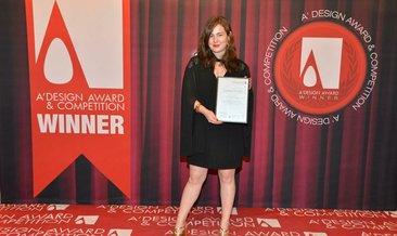 Genç türk tasarımcısı Merve Uçar'a İtalya'dan 2 ödül birden