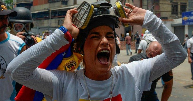 Venezuela'da gösterilerde 17 yaşındaki genç öldürüldü