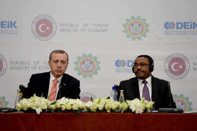 Cumhurbaşkanı Erdoğan Etiyopya'da