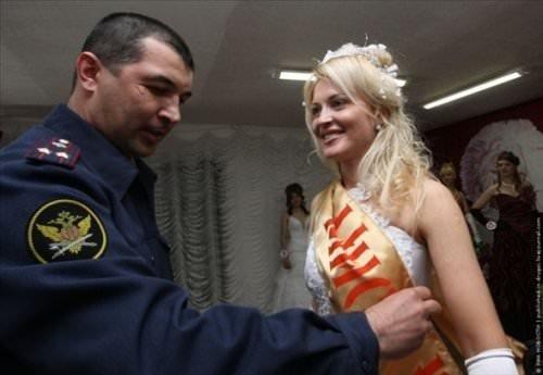 Rus hapishanesinde güzellik yarışması