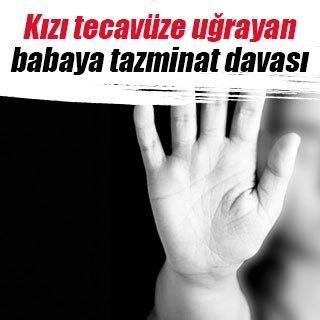 İşitme engelli kızı tecavüze uğrayan babaya tazminat davası