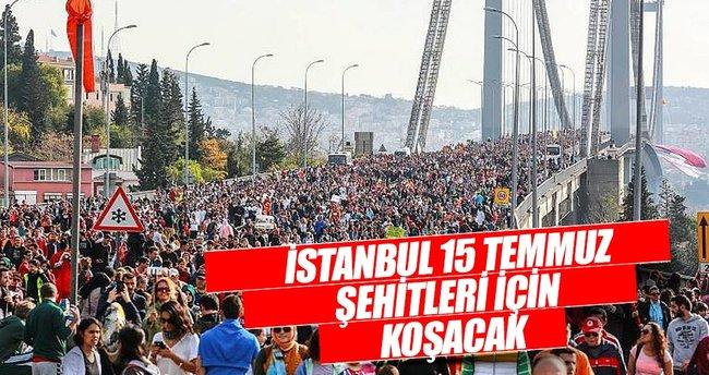 İstanbul 15 Temmuz şehitleri için koşacak