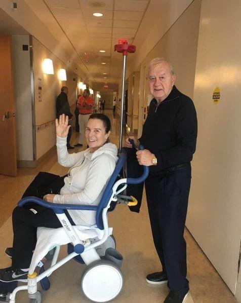 Hülya Koçyiğit hastaneden taburcu oldu