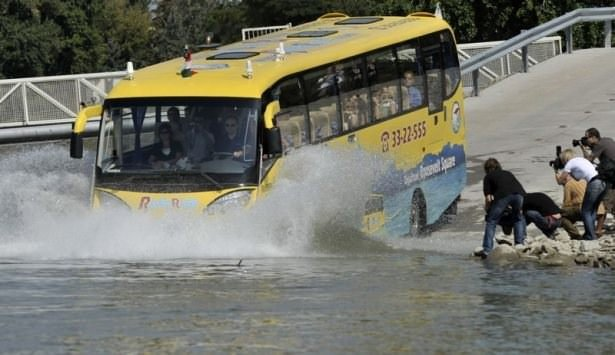 İstanbul'a 'Amfibüs' geliyor