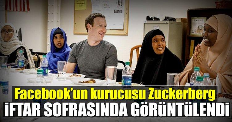Mark Zuckerberg iftar sofrasında