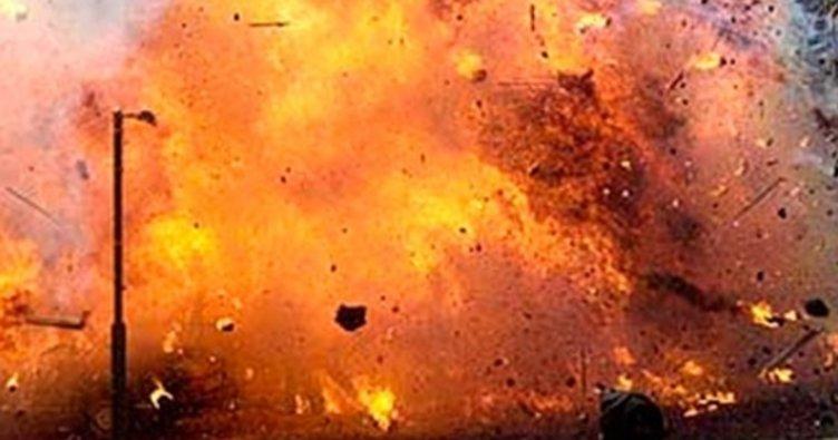 Beş kişilik aile bomba patlatarak intihar etti
