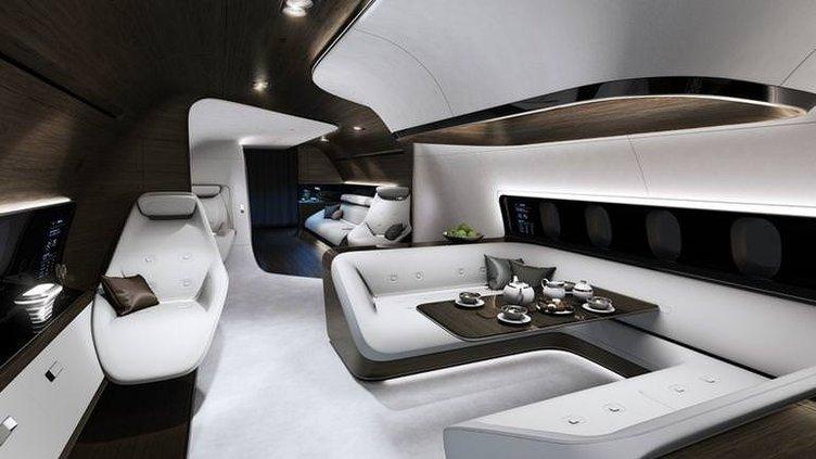 Mercedes ve Lutfhansa'dan konsept proje