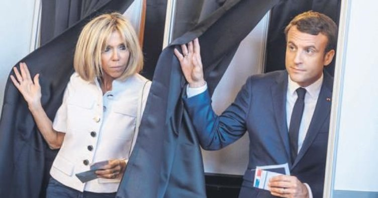 Macron ikinci zafere doğru