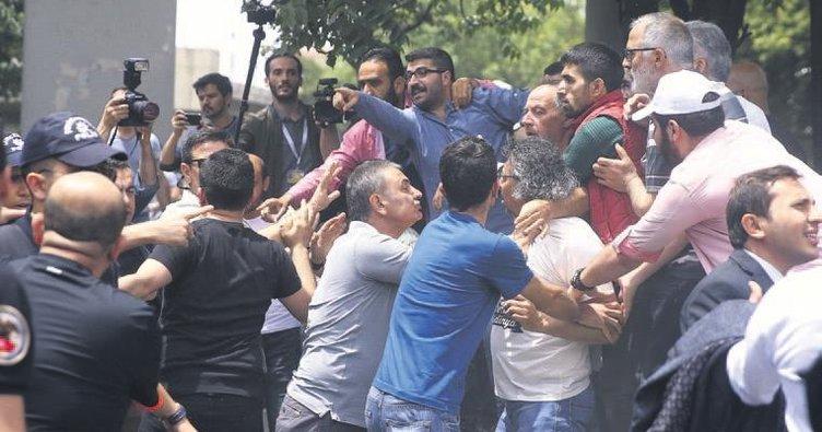 CHP'nin sözde adalet yürüyüşünde provokasyon