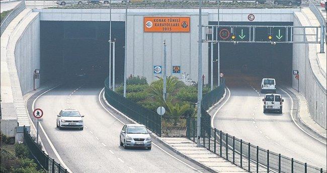 İzmir'in trafiği Konak Tünelleri ile rahatladı