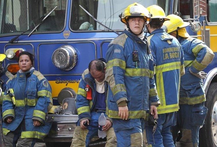 Arjantin'de yangın faciası