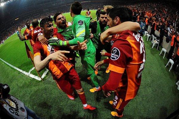 Galatasaray - Gaziantepspor maçı Twitter'ı salladı