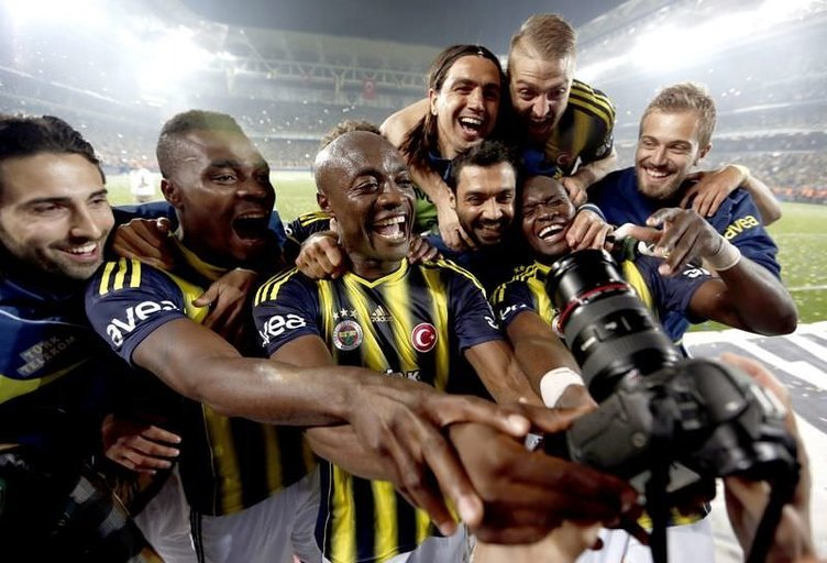 Fenerbahçe'de şampiyonluk kutlamaları