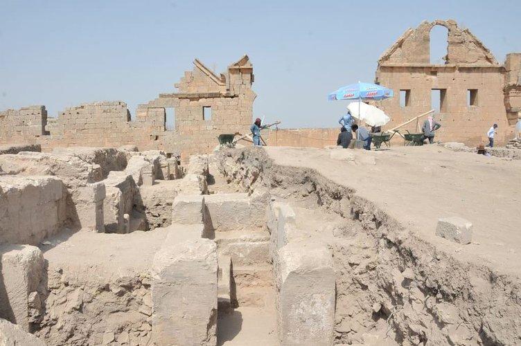 Harran'da bin 250 yıllık hamam izleri