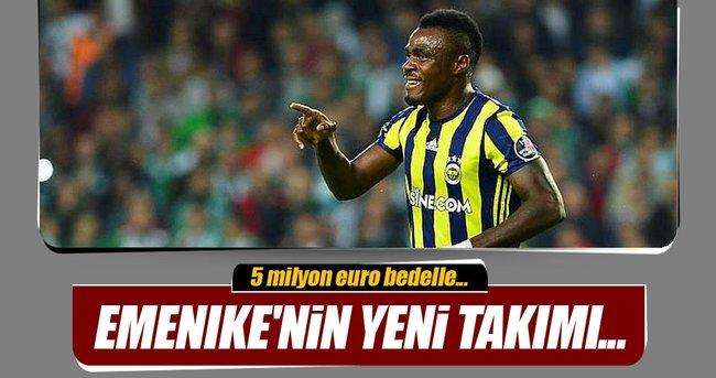 EMENİKE'NİN YENİ TAKIMI...