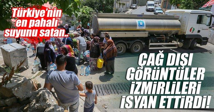 Türkiye'nin en pahalı suyunu satan İzmir'de su krizi tepki çekmeye devam ediyor