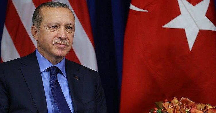 Cumhurbaşkanı Erdoğan'dan ABD'de flaş mesajlar!