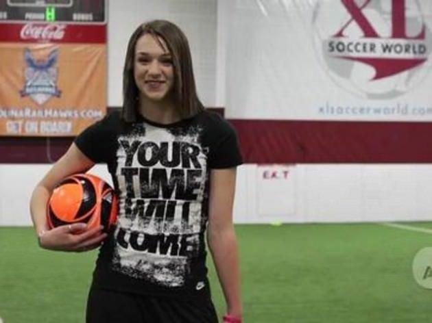 Futbol cambazı kadın tık rekoru kırıyor