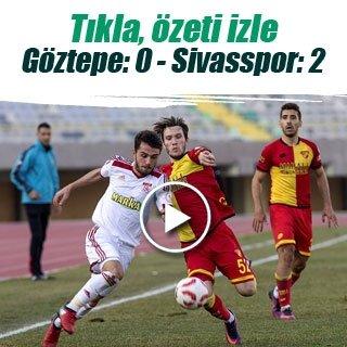 Gekas attı, Sivasspor turladı