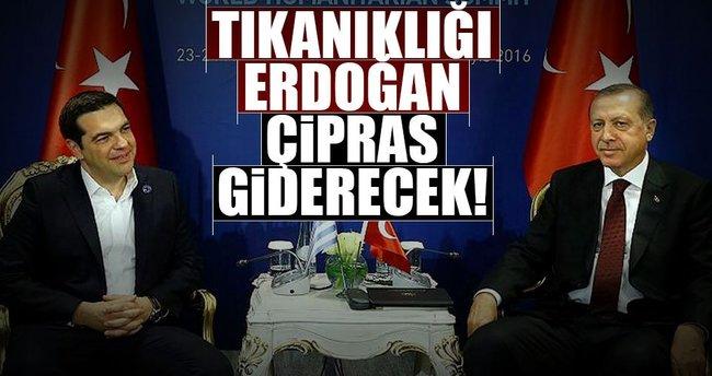 Kıbrıs'taki tıkanıklığı Erdoğan-Çipras giderecek