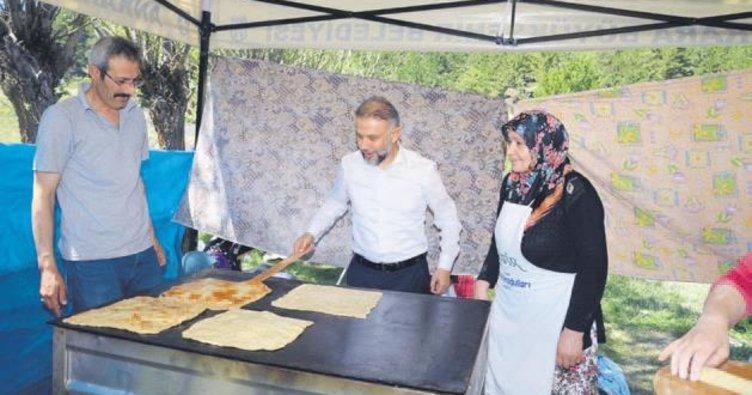 Gözlemeler Başkan Ertürk'ten