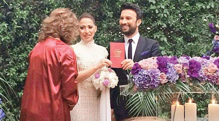 İşte Tarkan'ın düğününden ilk kare
