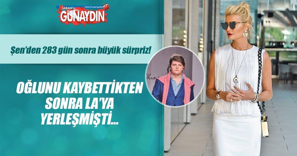 Begüm Şen 283 gün sonra İstanbul'a geldi