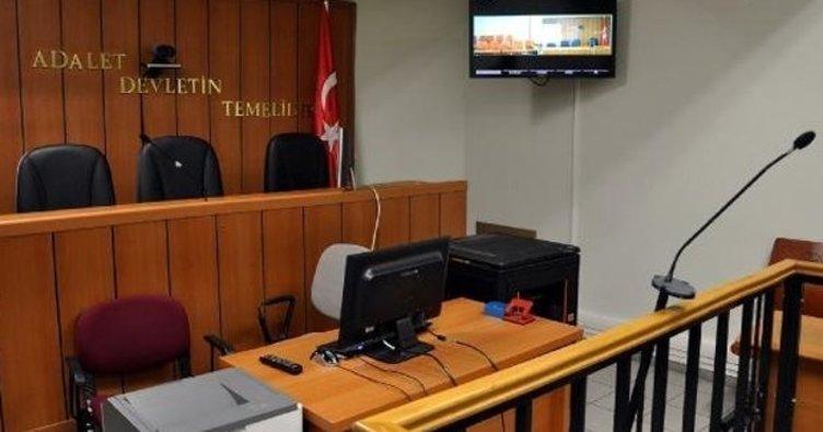 Duruşma salonunda tutuklandılar!