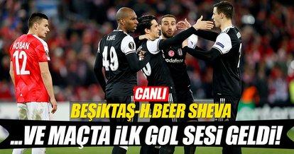 Beşiktaş-Hapoel Beer Sheva (Canlı)