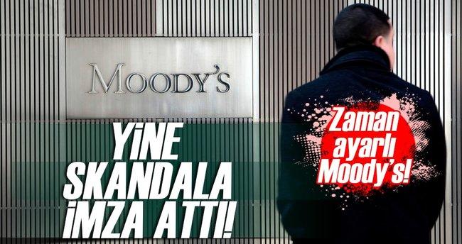 Moody's yine skandala imza attı!