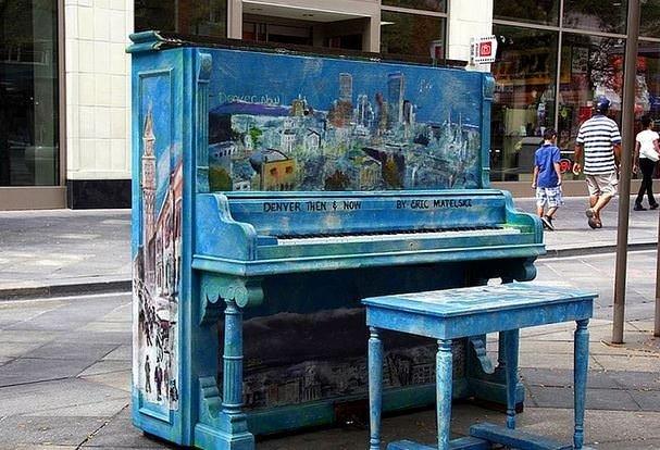 Rengarenk 30 piyano