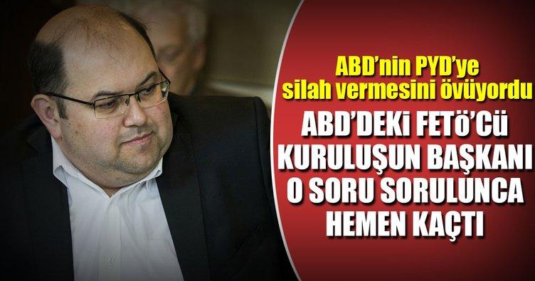 FETÖ bağlantılı Rumi Forum'un başkanı, PYD sorusuna cevap veremedi