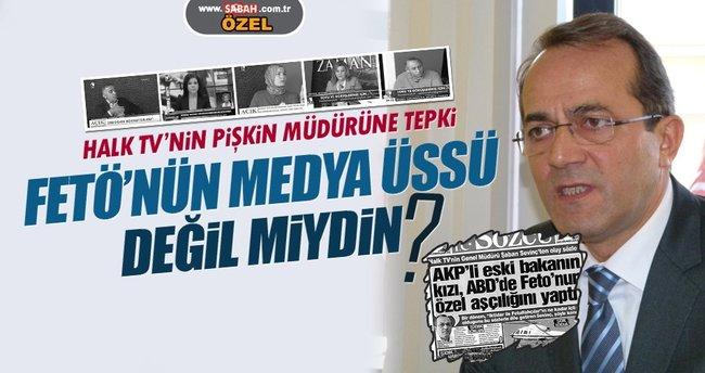FETÖ'ye kucak açan Halk TV'nin pişkin müdürüne tepki