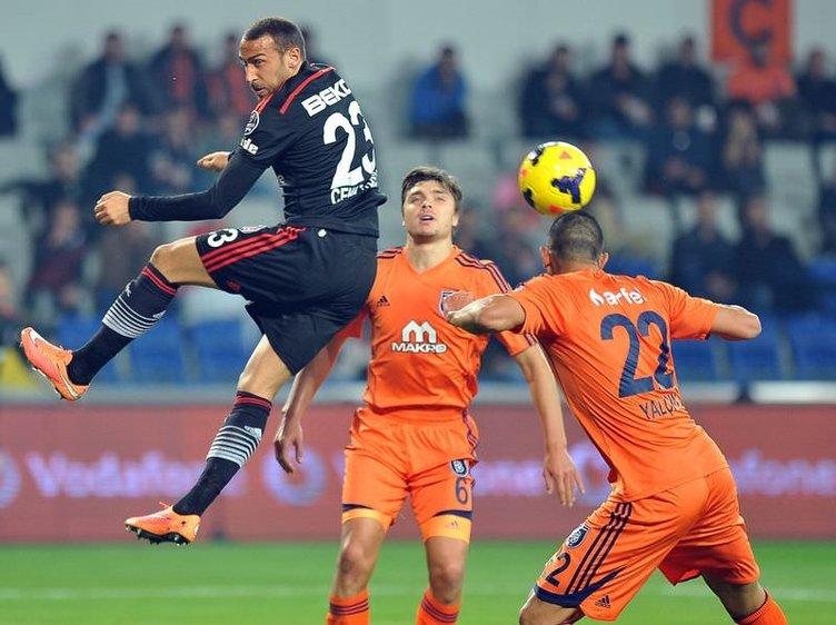 İstanbul Başakşehir - Beşiktaş maçının fotoğrafları