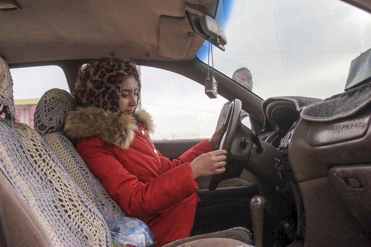 Afganistan'da kadınlar artık direksiyon başında