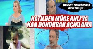 Kan donduran cinayet itirafı!