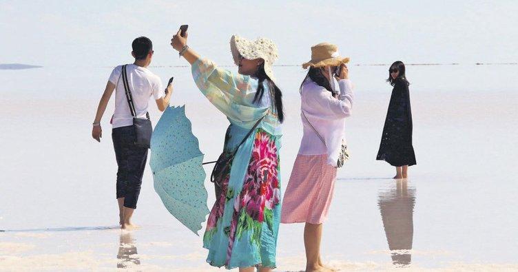 İlk durak Tuz Gölü
