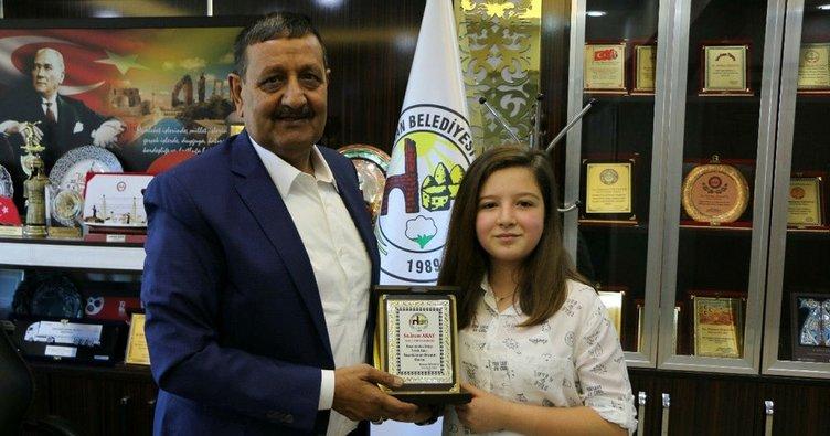 Harran'da bir öğrenci TEOG Türkiye birincileri arasına girdi