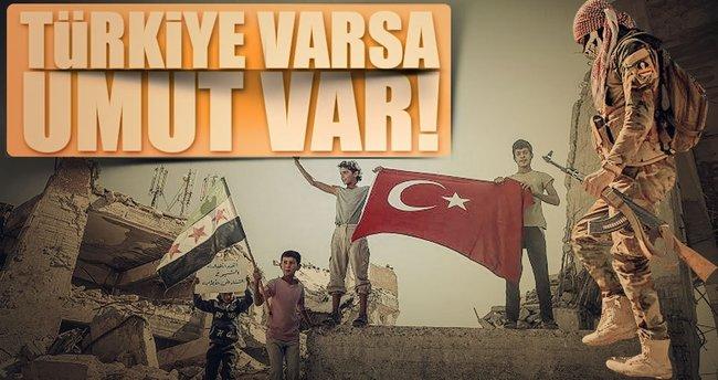 Türkiye varsa umut var
