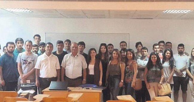 Öğretmen adaylarına matematik semineri